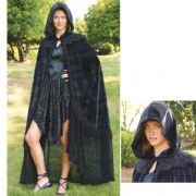 Midnight Fantasy Velvet Cape